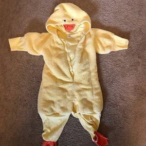 Duck costume 18-24 months
